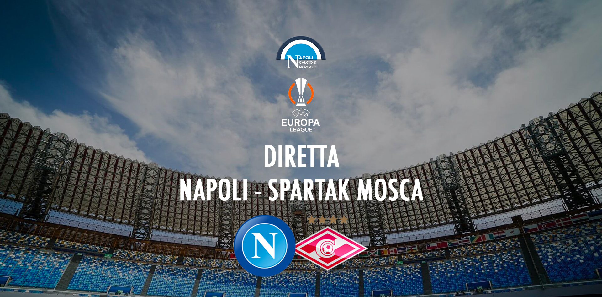 diretta napoli spartak mosca live diretta testuale dove vedere in tv partita napoli oggi europa league