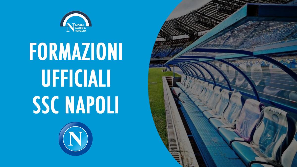 napoli formazioni ufficiali formazione ufficiale sscnapoli calcionapoli24 calcionapoli sky gazzetta fantacalcio mediaset