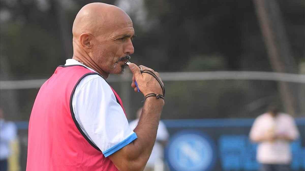 Formazioni ufficiali Napoli-Spartak Mosca, Spalletti con il fischietto in bocca