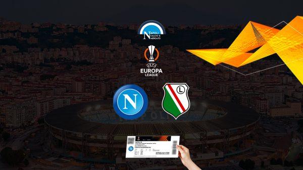 biglietti napoli legia varsavia prezzo europa league ticketone stadio maradona curva b a distinti tribuna