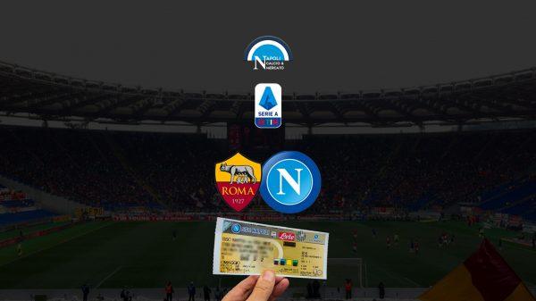 biglietti roma napoli stadio olimpico 24 ottobre settore ospiti prezzi