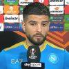 lorenzo insigne napoli gol intervista sky sport futuro calciomercato rinnovo
