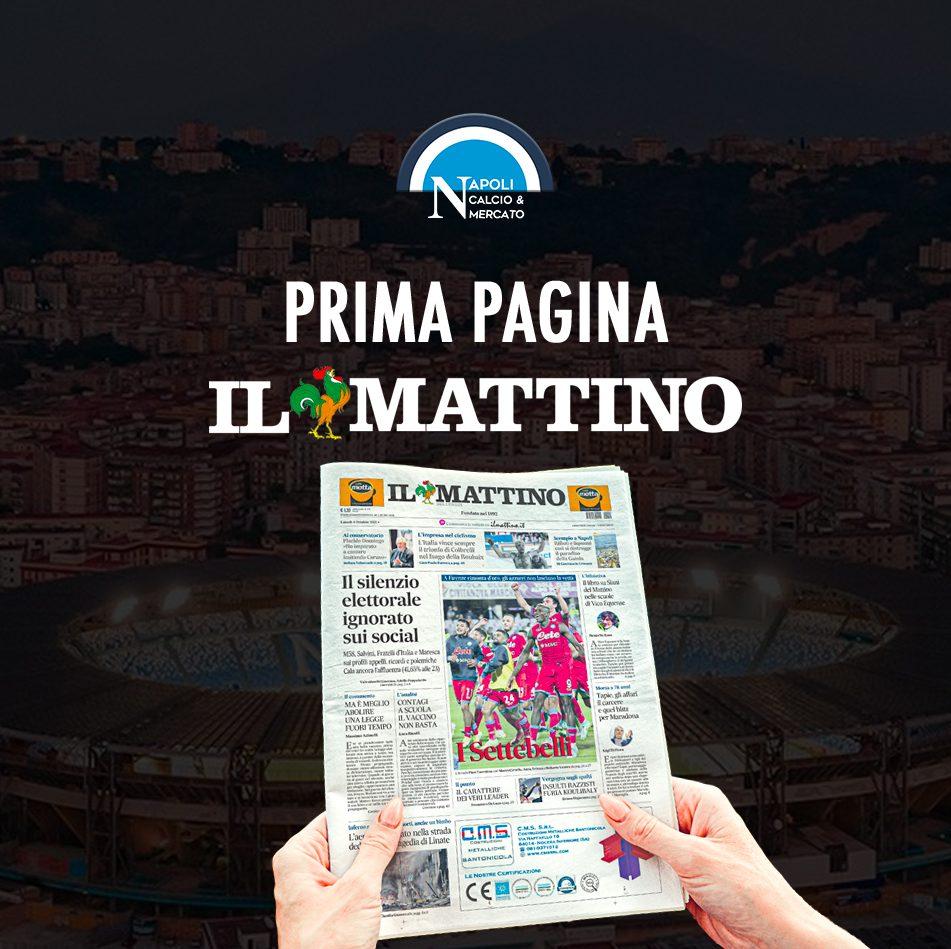prima pagina il mattino di napoli oggi edicola online quotidiano sfoglia giornale calcionapoli ilmattino it